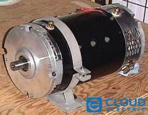 Motor Amd 9 1 Fb1 4001a 72 144vdc 19 5hp Double Shaft